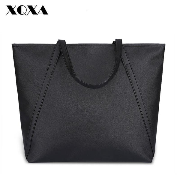 Shoulder Bags PU LEATER BAGS/ Tote Big Handbags-GKandaa.net