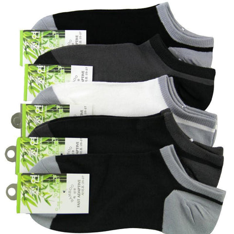 Men's Socks Summer Bamboo Shallow Mouth Sport All-Match 5pairs/-GKandaa.net