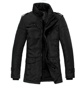 Men's Jackets Winter Casual cotton Waterproof Coat-GKandaa.net