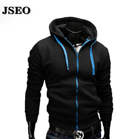 Men's Hoodies hooded zipper sports suit slim-GKandaa.net