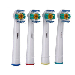 Hot 4pcs/set Oral Hygiene EB-18A Rotary B Electric Toothbrush Heads Replacement for Oral Soft Bristles Tooth brush heads - GKandAa