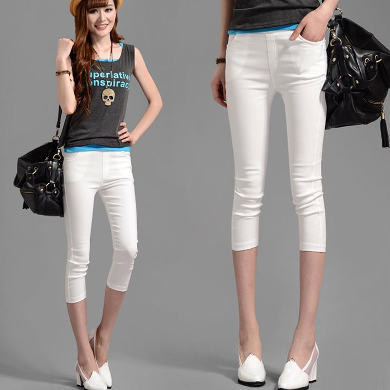 Women Pants Leggings XXL Color casual stretch-GKandaa.net