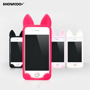 Case Cover for iPhone cat 3d Cute Soft ne 4 45c 5 /5s se 6-GKandaa.net