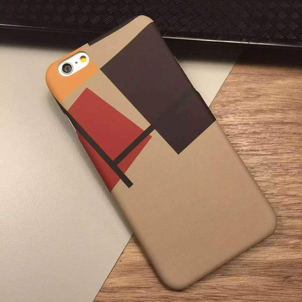 Case Cover for iPhone Geometric Space O Hard 6 6S 4.7 ich-GKandaa.net