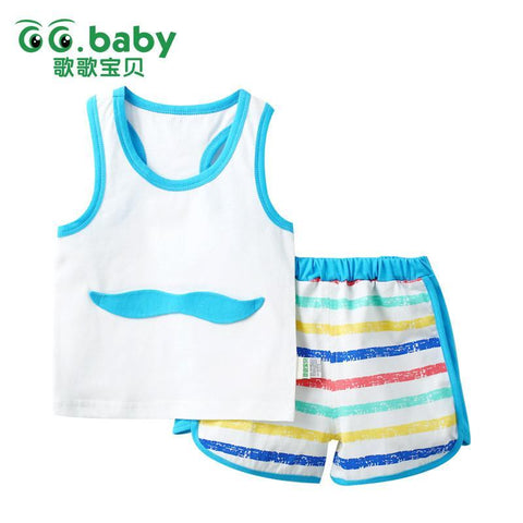 Baby Clothing Sets 2 piece pants Blouse summer Littleanzellina.myshopify.com