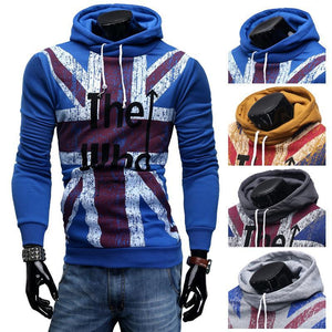 Men's Hoodies Male Sleeve Word Slim suit-GKandaa.net
