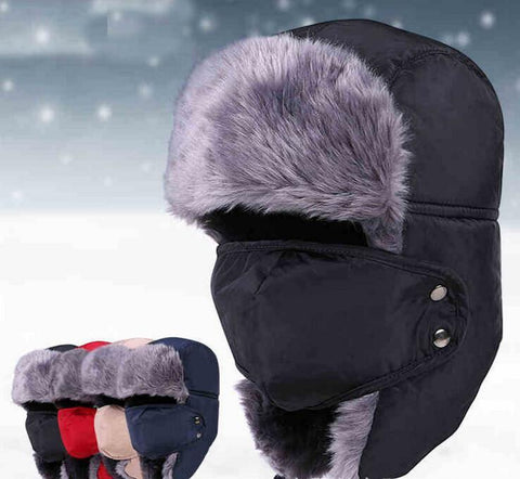 Women's Hat Unisex Beanies Warm fur Outdoor-GKandaa.net