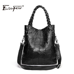 Genuine Leather Bags Shoulder Famous Casual Tote-GKandaa.net