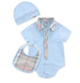 Baby Bodysuits 100% Cotton [ body + hat + Bib ]-GKandaa.net