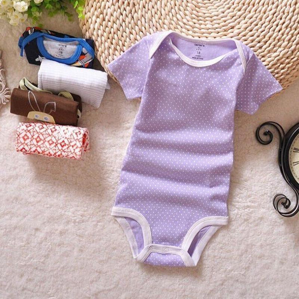 Baby Bodysuits Retail 0-2yrs short-Sleeved jumps ATLL0012-GKandaa.net