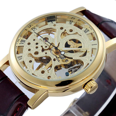 Men's Watches Leather Luxury Casual-GKandaa.net