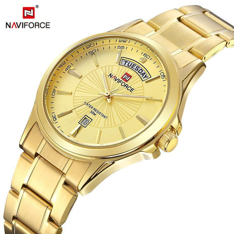 Men's Watches Luxury Quartz Steel Casual clock-GKandaa.net