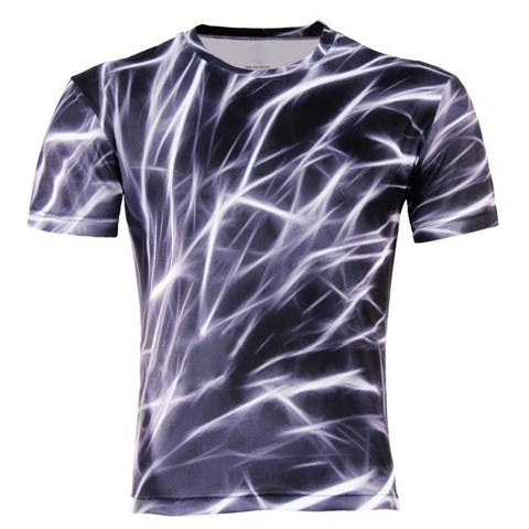 Men's T-Shirts Fashion 3D lizard/water droplets M-4XL-GKandaa.net