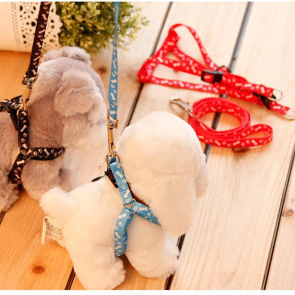 Dog Supplies Large Big Cat Leash Harness lace Rope Tie Collar Lead-GKandaa.net