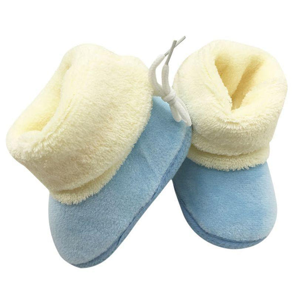 Baby Shoes Solid cotton Mixed Colors No- Snow Boots-GKandaa.net