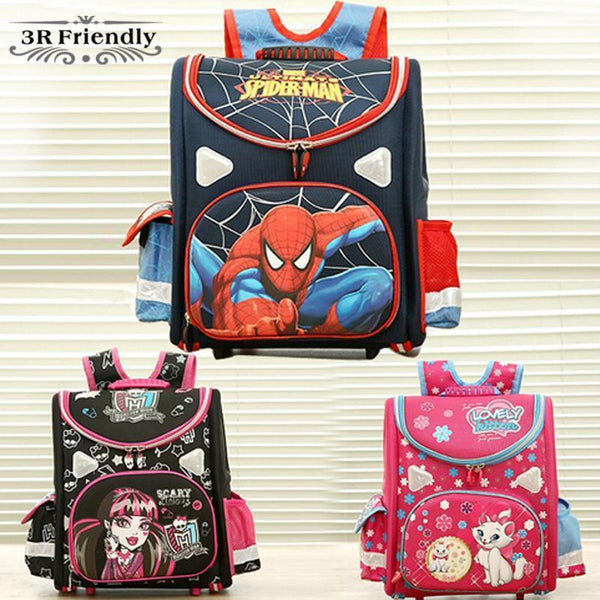 Backpacks 21model Butterfly high orthopedic school EVA girl-GKandaa.net