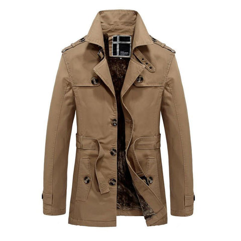 Men's Coats Jackets winter Fleece Outerwear Over-GKandaa.net