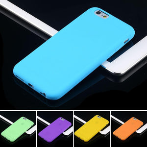 Case Cover for iPhone Color 6 / 6s Plus Soft TPU 6 Slim-GKandaa.net