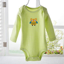 Kids, baby, Retail 0-2yrs long-Sleeved Baby Infant cartoon bodysuits for boys girls jumpsuits Clothing new ATLL0013 - GKandAa - 1