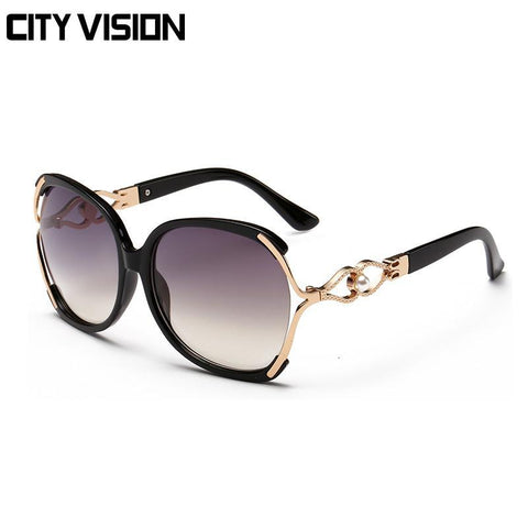 New Butterfly sunglasses Women Fashion glasses Luxury party point sun oversized Glasses Female Eyewear brand shades Outdoor - GKandAa - 6