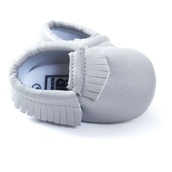 Baby Shoes Toddler Soft Sole PU Leather Tassels Various Cute H34-GKandaa.net