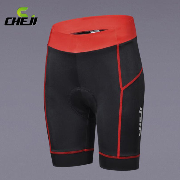 Women's Shorts CHEJI Stripe Bile Padded With Pad-GKandaa.net