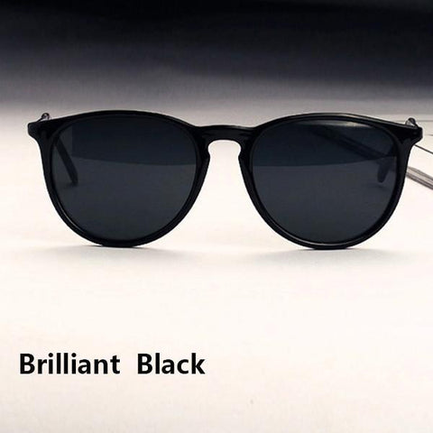 Sun Glasses for Women Men Retro Round Eyeglasses Metal Frame Leg Spectacles 5 Colors Sunglasses - GKandAa - 5