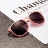 Sun Glasses for Women Men Retro Round Eyeglasses Metal Frame Leg Spectacles 5 Colors Sunglasses - GKandAa - 4