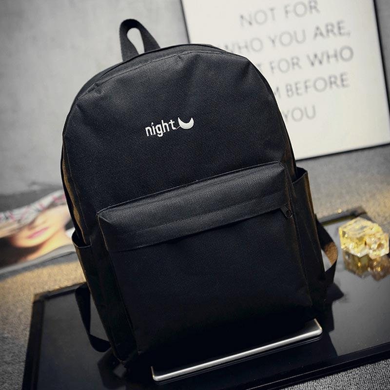 Backpack Fashion Canvas Silt Pocketanzellina.myshopify.com