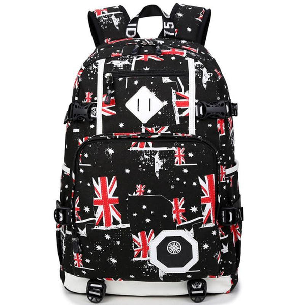 Backpacks Bags Tactical Preppy High Large Schoolanzellina.myshopify.com
