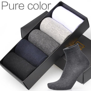 Men's Socks 5 Pairs / Lot cotton-GKandaa.net