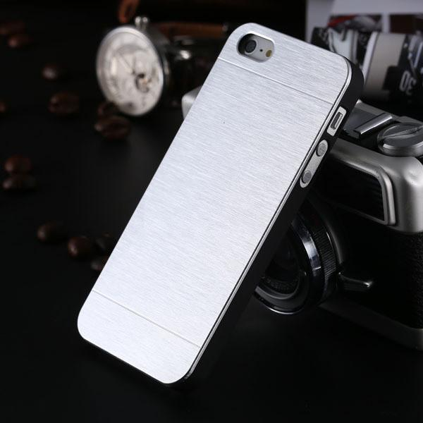 Case Cover for iPhone Cool Metal Gold 5 5S SE Aluminum Plastic Hard-GKandaa.net