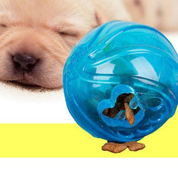 6.5cm Size No Toxic Pet Dog Toys Fun Food Dispenser Treat Chew Ball Rubber Products for Dogs - GKandAa