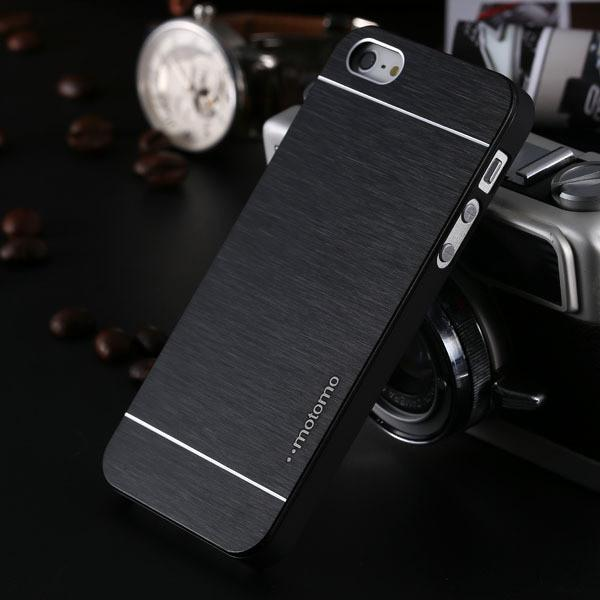 Case Cover for iPhone 4s Luxury aluminum Metal Brush 4 4S-GKandaa.net