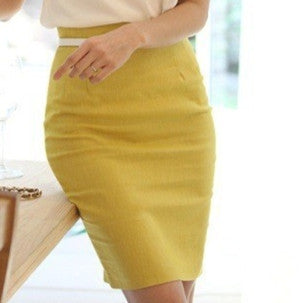 Women Skirt High Waist off Midi Tight-GKandaa.net