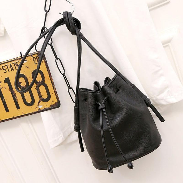 Bucket bag Price Color Shoulder Quality PU Leather-GKandaa.net
