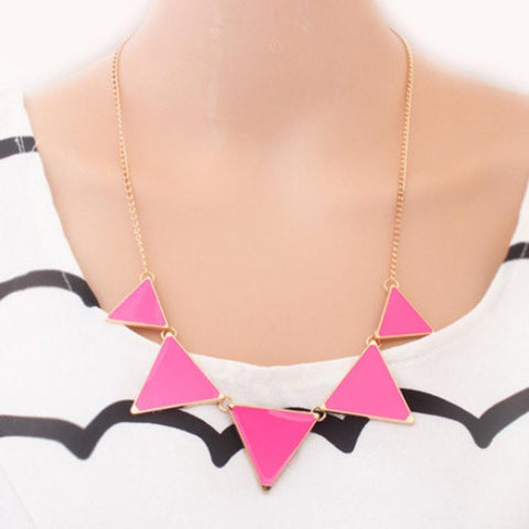 New Fashion Triangle Necklace Jewelery - GKandAa - 2