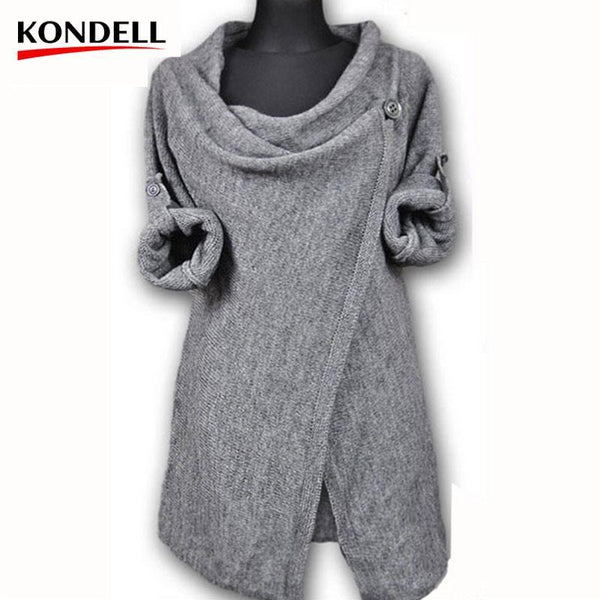 Women's Cardigans Single Button-GKandaa.net