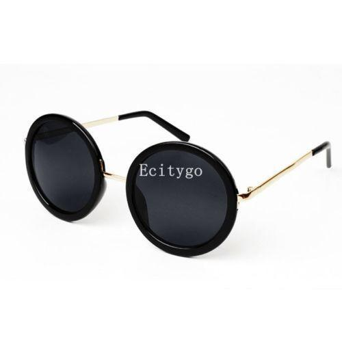Women's Sunglasses Retro Vintage Round Metal Frame 5 Color A2-GKandaa.net