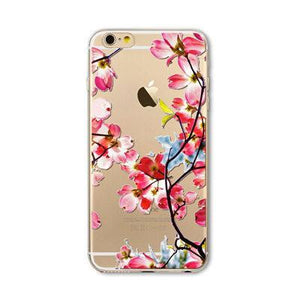 Case Cover for iPhone I6 6s s Transparent I 6 6s Slim Rubber TPU-GKandaa.net