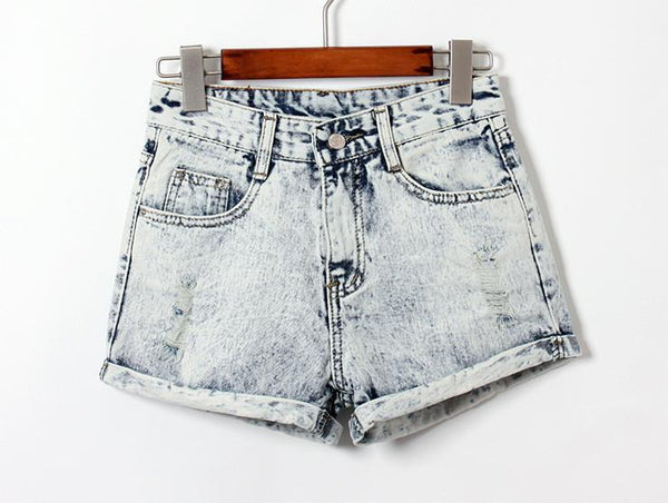 Women's Shorts hole fashion-GKandaa.net