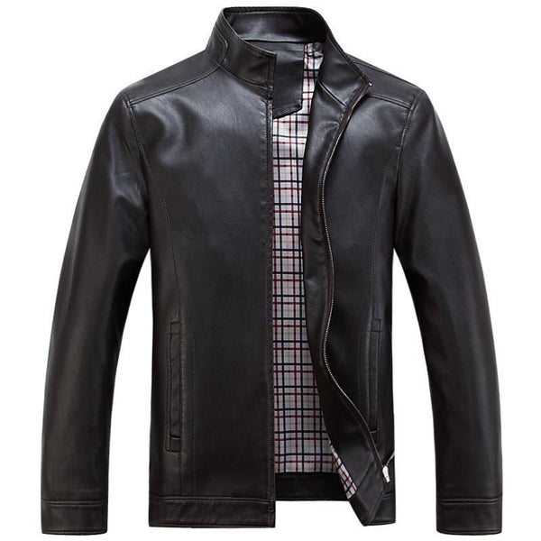 Men's Leather Jackets Quality Casual-GKandaa.net