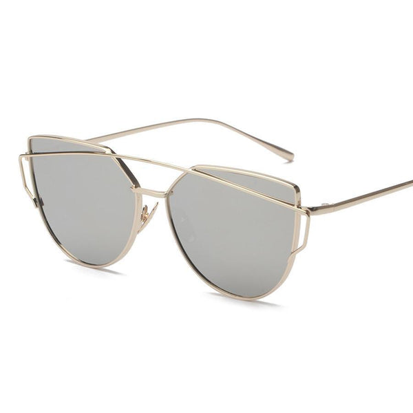 Women's Sunglasses 6 Colour Luxury Cat Eye UV400-GKandaa.net