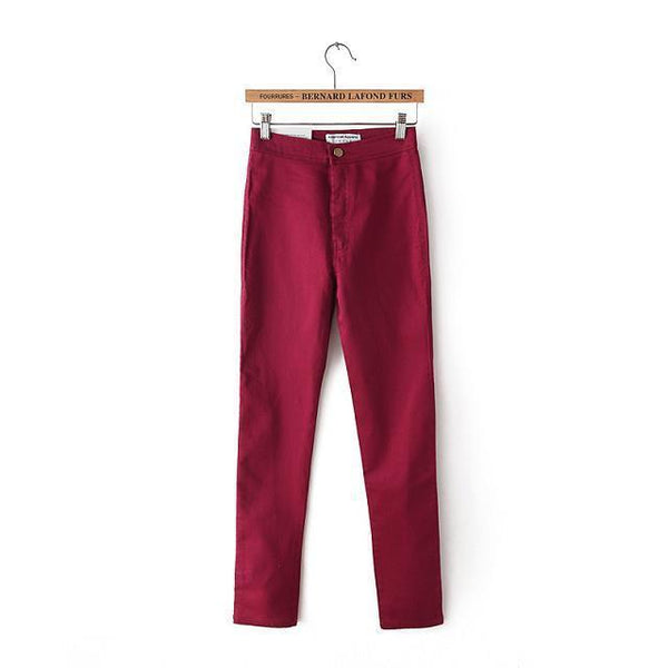 Women's Jeans High Waist pants-GKandaa.net