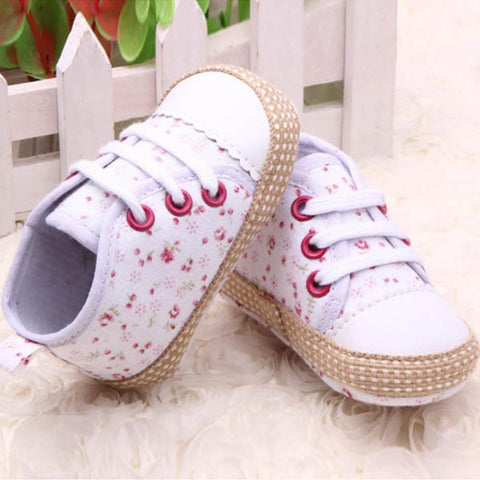 Baby Shoes 0-12M Kid Girl Toddler Soft Soleanzellina.myshopify.com