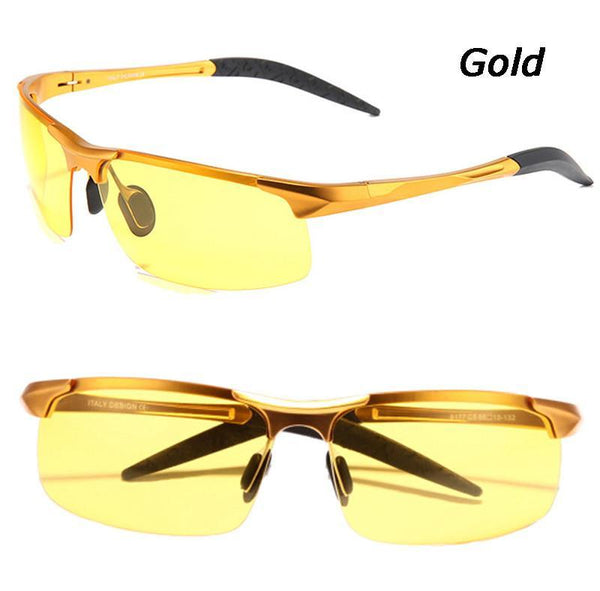 Men's Sunglasses aluminum-ma car drivers night vision goggles-GKandaa.net