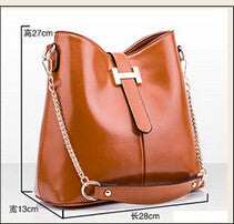 Shoulder Bags fashion PU leather Zipper Handbags-GKandaa.net