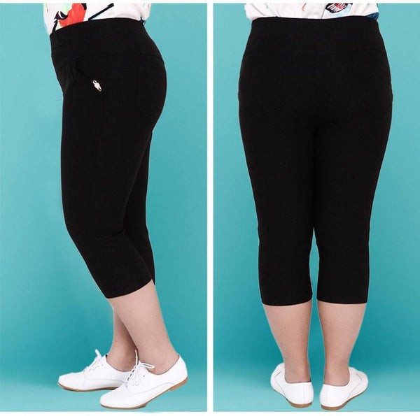 Women Pants Slim Elastic cotton-GKandaa.net