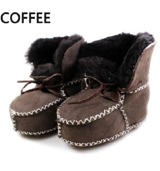 Baby Shoes winter boots infants warm Genuine Leather boy boots-GKandaa.net