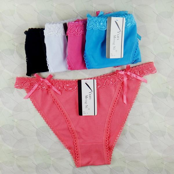 Women's Panties 95% cotton 5% spandex Briefs-GKandaa.net